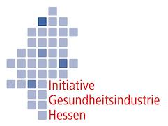 Logo Initiative Gesundheitsindustrie Hessen